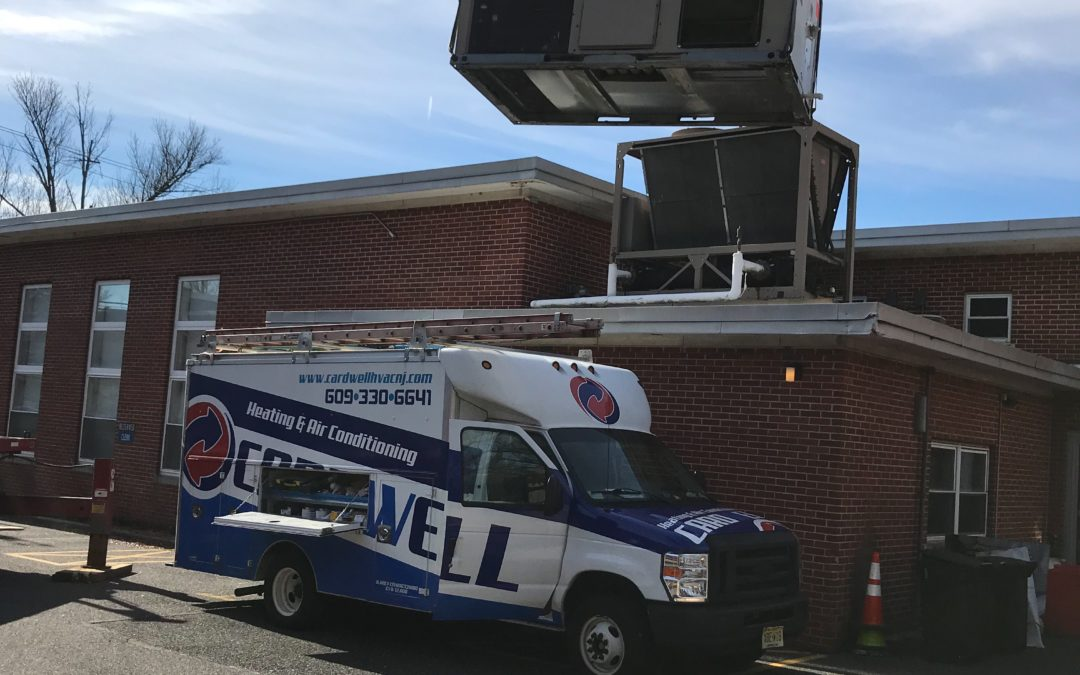 Commercial Rooftop Installation in Haddon Heights, New Jersey