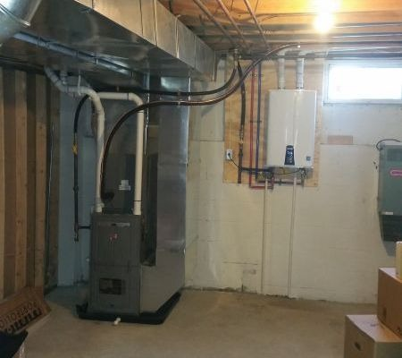 GAS FURNACE & TANKLESS WATER HEATER INSTALLATION IN MARLTON, NJ